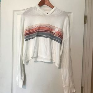 NWT Billabong Crop Top Sweatshirt